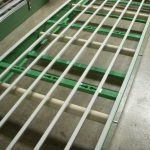 "OEM installing JPS 36"" BF, medium duty, rollers for modular belt return"