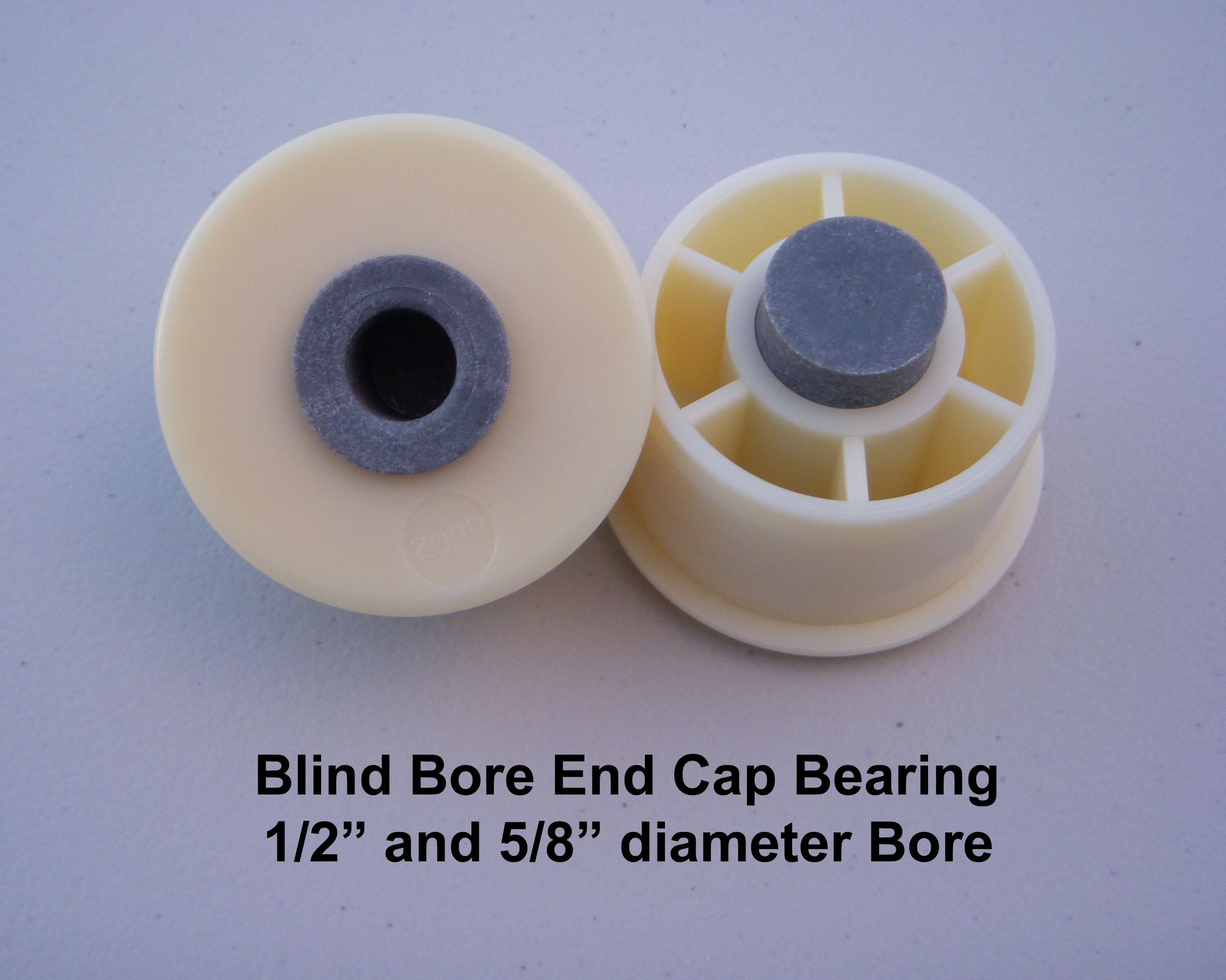 Schedule 40 PVC Pipe End Cap Bearings – JPS Rollers com