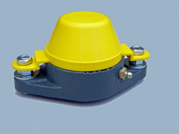 Series 206 Stayput Design Bearing Safety Cap Jps Rollers Com