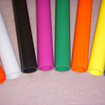 Standard tube colors are white (W), beige (B) and gray (G). Other colors may be available especially the small diameters
